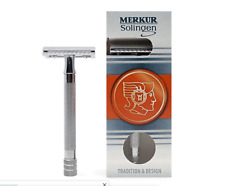 Merkur Solingen 23C Long-handled Safety Razor - Made in Germany