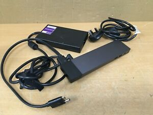 HP Elite Thunderbolt 3 Dock ZBook HSTNN-CX01 with USB-C cable & PSU -841830-002