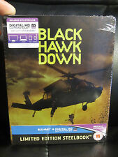 Black Hawk Down Blu-Ray Steelbook [UK] Region Free War US Army Rangers SOLD OUT