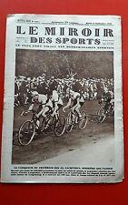 The Mirror Des Sports 447 Du 11/09/1928 Bike