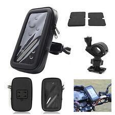 """3.5""""/4.3"""" Waterproof Motorcycle Motor Bike Cycling GPS NAV Case+ Holder"""