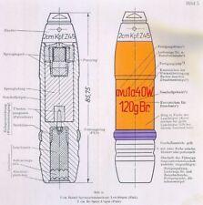 GERMAN 20MM SHELL & FUZE REFERENCE CD  ENCYCLOPEDIA AMMUNITION ID MANUAL  WW2