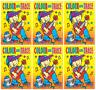 Set 6 x A4 Colour & Trace Books Childrens Books Party Bag Gifts Yellow Cover 630