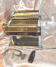 ATLAS ITALY  STAINLESS STEEL PASTA MAKER  MACHINE #150 TIPO LUSSO MODEL