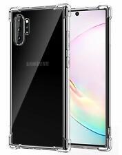 Funda Rigida Transparente Antichoque Anti-Shock Para Samsung Galaxy Note 10+