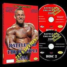 BATTLE FOR THE OLYMPIA 2014 212lb Class dvd Mr Olympia IFBB NPC Flex Lewis wins!