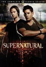 Supernatural: The Complete Eighth Season (DVD, 2013, 6-Disc Set)