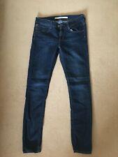 Topshop Size 10 Dark Blue Baxter Jeans W28 L32 - Excellent condition