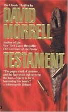 Testament by David Morrell (1993, Paperback)