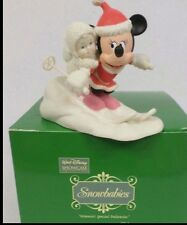 "Snowbabies Walt Disney Showcase ""Minnie's Special Deliveries""  BRAND NEW !"