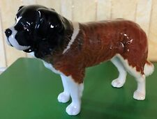 BESWICK DOG SAINT BERNARD CH. CORNA GARTH STROLLER  MODEL No 2221 GLOSS PERFECT