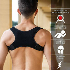 1Pc Back Shoulder Posture Corrector Fracture Support Brace Belt Orthopedic Strap