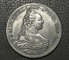 Russia Table Medal.Empress Elizabeth. 1754. Silver Plated. The Moscow University
