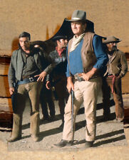 "John Wayne ""El Dorado"" Western Movie Figure Tabletop Display Standee 8"" Tall"