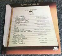 ALAN FREEMAN + GUESTS - BY INVITATION ONLY - UK ATLANTIC A1,B1,C3,D1 - LP EX/EX