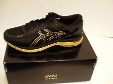 Asics running shoes metaRun black onyx gold size 8 men new
