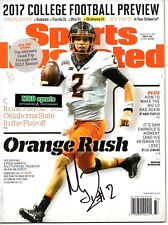 Mason Rudolph Reprinted autographed signed Sports Illustrated 8x10 photo Steeler