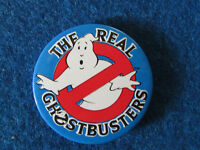The Real Ghostbusters - Button Badge - 1980's?