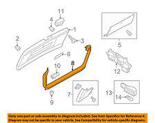 AUDI OEM 09-12 Q5 Liftgate Tailgate-Upper Gate Trim 8R0867973AU57