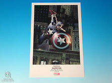 Captain America Limited Edition Print Mike Perkins Marvel Comics Avengers 2008