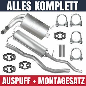 Auspuffanlage Schalldämpferset Auspuff Seat Alhambra 1 I 98-10 1.8 T Montagesatz