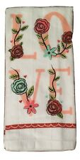 Ritz Love Floral Valentines Day Set of 2 Kitchen Towels
