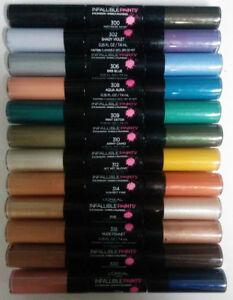 L'Oréal Paris Infallible Paints Eye Shadow - Choose Your Color!!