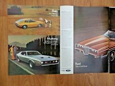 1971 Ford Ad  Pinto Mustang & LTD