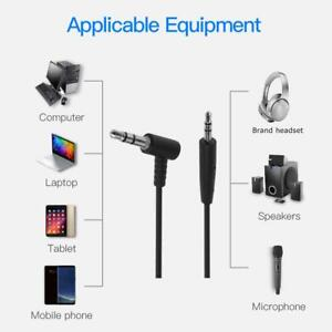 1.5m 2.5mm Male to 3.5mm Male Audio Adapter Cable for Bose OE2 Headphone