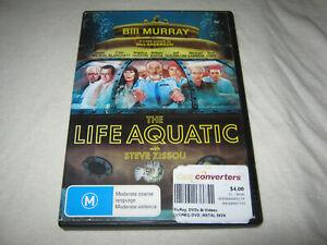 The Life Aquatic with Steve Zissou - Bill Murray - Ex Rental DVD - R4