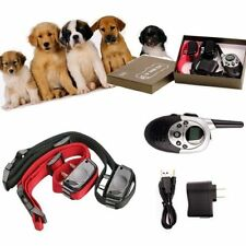 2 Dog Shock Training Collar w/Remote Waterproof Rechargeable1000 Yard Hunting