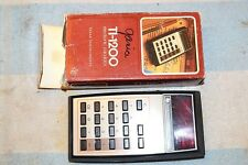 TEXAS INSTRUMENTS UIB TI-1200 POCKET CALCULATOR LED fully tested NICE CLEAN ONE