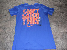 """New Boy's Royal Small Nike T-Shirt """"Can't Catch This"""" 826912"""