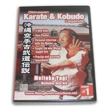 Okinawan Meibukan Goju RyuKarate Kobudo Legends #1 Dvd Meitoku Yagi Rs-0607 new