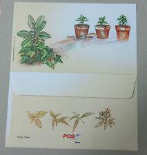 Malaysia 2015 Medicinal Plants Series III Blank FDC Type 2