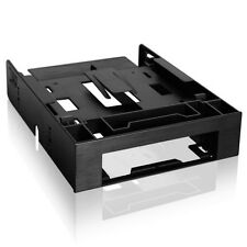 """ICY DOCK FLEX-FIT Trio MB343SP 2x 2.5"""" & 3.5"""" to 5.25"""" Front Bay Conversion Kit"""