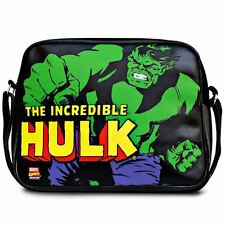 Marvel Comics The Incredible Hulk Black Messenger Bag - Official Black