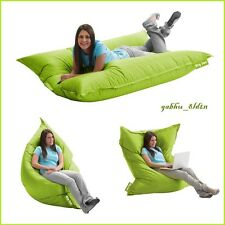 Lounger Bean Bag Oversize Large Sofa Lounge Chair Seat Floor Bed 2in1, Lime