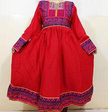 Vestido kuchi afgano tribal Nuevo Vestido Vestido Vestido Hippie Bohemio Banjara ND-228