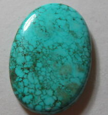 UNIQUE 95CT OVAL  SHAPE NATURAL  EARTH MINED BLUE TURQUOISE FROM BRAZIL
