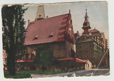 Czechoslovakia PRAGUE, OLD-NEW SYNAGOGUE,  , USED,  1960