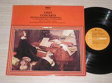 FRANZ LISZT - CONCERTI PER PIANOFORTE E ORCHESTRA - LP 33 GIRI ITALY