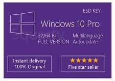 License / Licenza Microsoft Windows 10 Pro