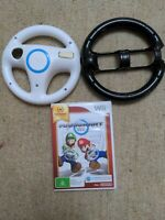 MARIO KART Wii with 2 Wheels PAL Nintendo AUS release