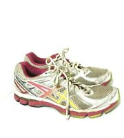 Asics GT 2000 Womens Running Shoes Sneakers Gray Orange Pink Size 8.5 T3P8N