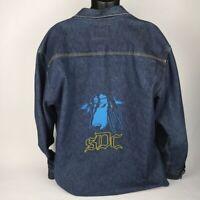 SNOOP DOGG CLOTHING Size 3XL Vintage Quality Blue Denim Jacket