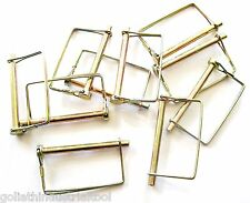 "10 GOLIATH EXTRA LONG 5/16"" SQUARE CANOPY PTO TRAILER HITCH PINS LCPTC516 AWNING"