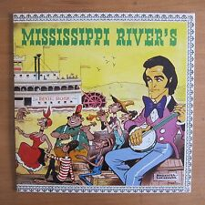 "33 TOURS LP DICK RIVERS ""Mississipi rivers"" POCHETTE BD MORRIS (Lucky Luke)"