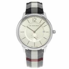 Burberry BU10002 The Classic Horseferry Silver Dial Stainless 40mm Men's Watch