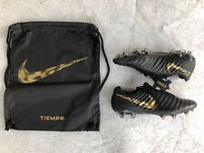 Nike tiempo legend 7 elite FG, negro/oro, levas